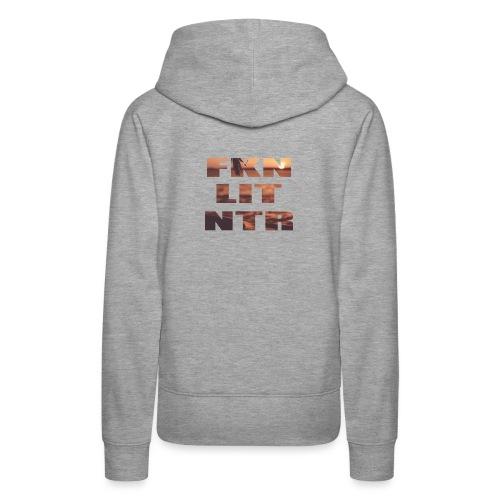 Sunset Letters - Frauen Premium Hoodie