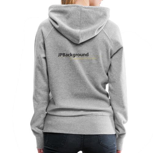 Logo JPBackground - Frauen Premium Hoodie