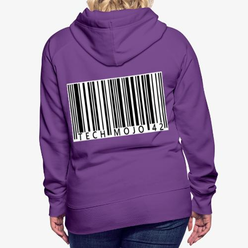 TM graphic Barcode Answer to the universe - Women's Premium Hoodie