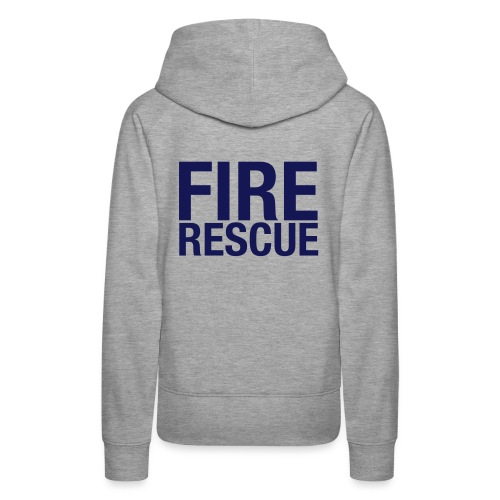 Fire and Rescue - Women's Premium Hoodie