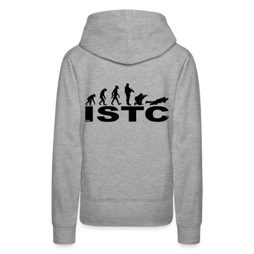 ISTC NOIR - Sweat-shirt à capuche Premium pour femmes