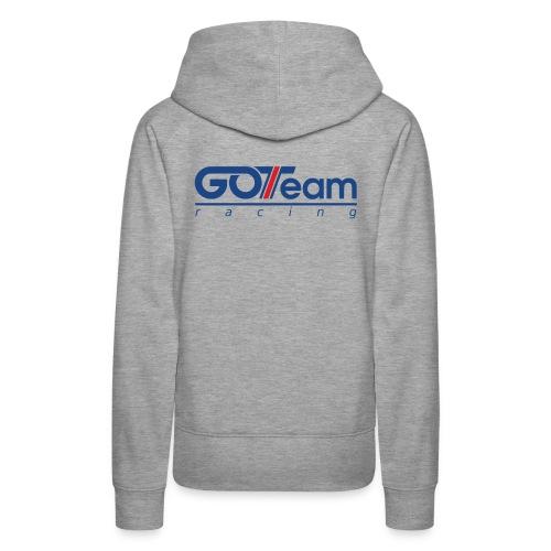 GOTeam Racing Blue - Premiumluvtröja dam