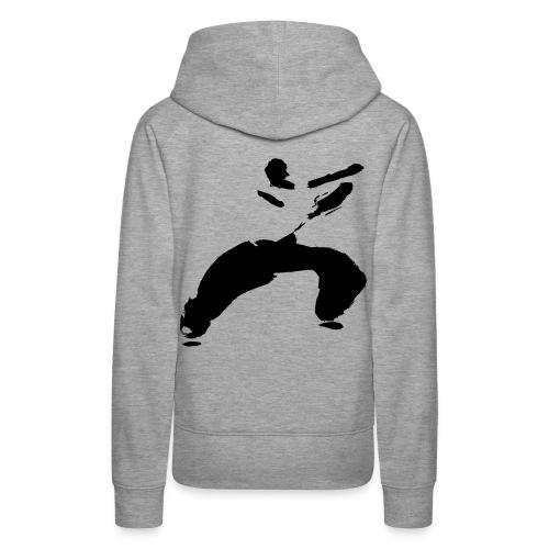 kung fu - Women's Premium Hoodie