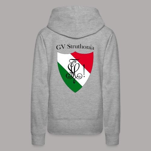 Wappen Struthonia beschriftet - Frauen Premium Hoodie
