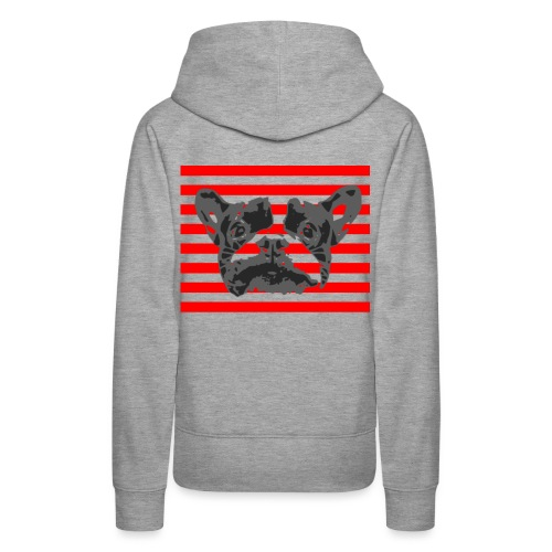 Französische Bulldogge french bulldogg FRENCHIE - Frauen Premium Hoodie