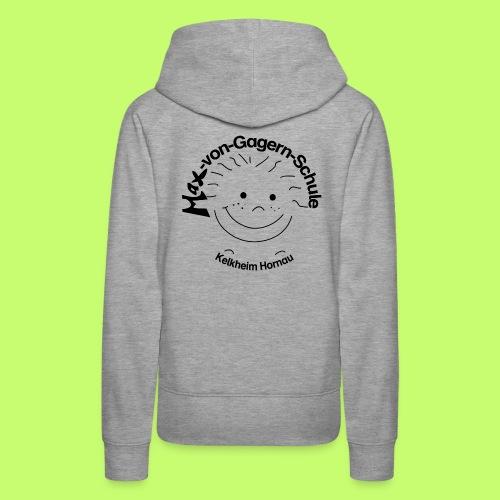 Mäxchen Logo schwarz - Frauen Premium Hoodie