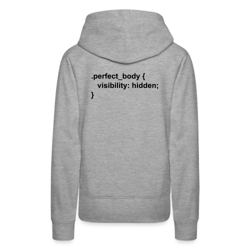 CSS Perfect Body - Frauen Premium Hoodie