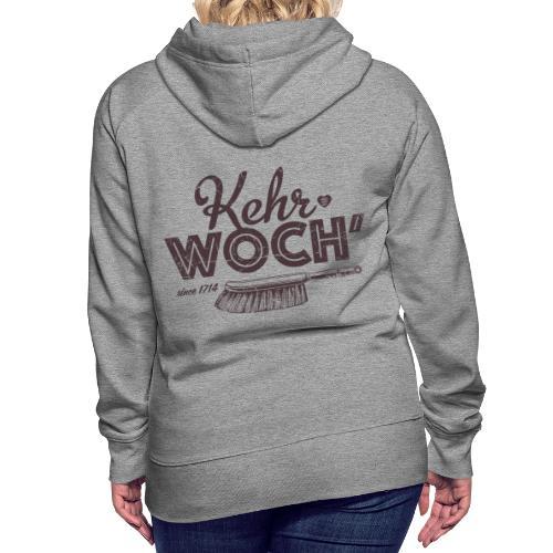 Kehrwoch - Frauen Premium Hoodie
