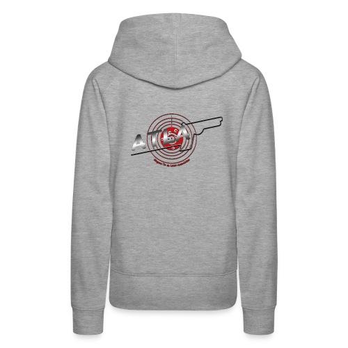 blason association3 png - Sweat-shirt à capuche Premium pour femmes