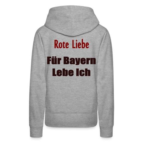 rote liebe png - Frauen Premium Hoodie
