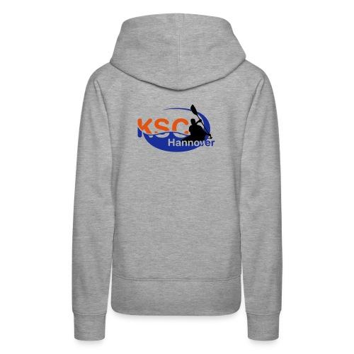KSC Logo 3-farbig - Frauen Premium Hoodie