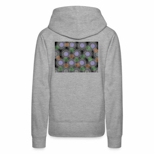 Floral illusion - Women's Premium Hoodie