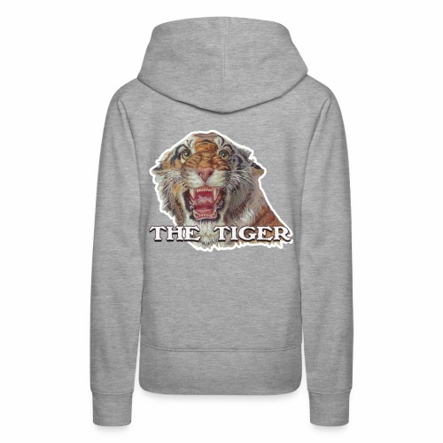 THE TIGER - Frauen Premium Hoodie