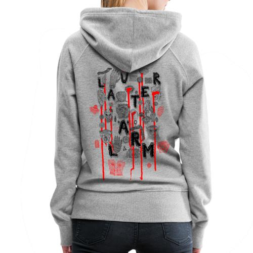 Lauter Lärm by Andi Haslauer - Frauen Premium Hoodie