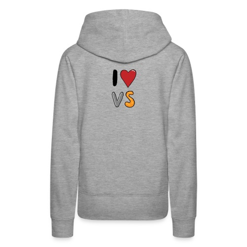 I heart VS - Women's Premium Hoodie