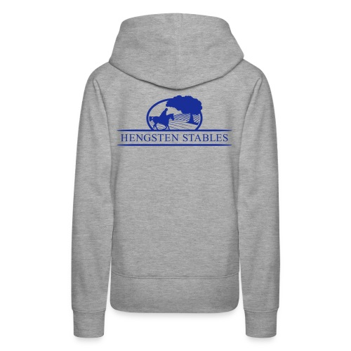 Logo grau - Frauen Premium Hoodie