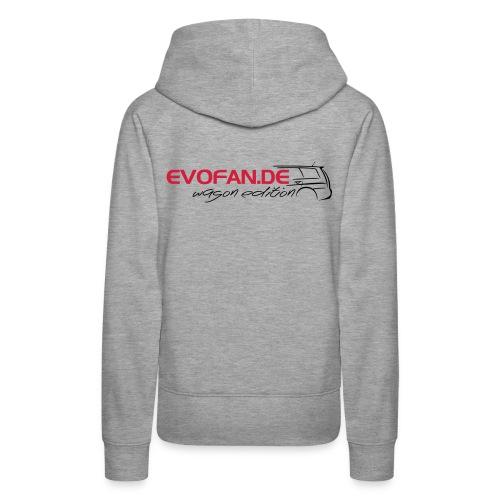 evofan.de wagon edition - Frauen Premium Hoodie