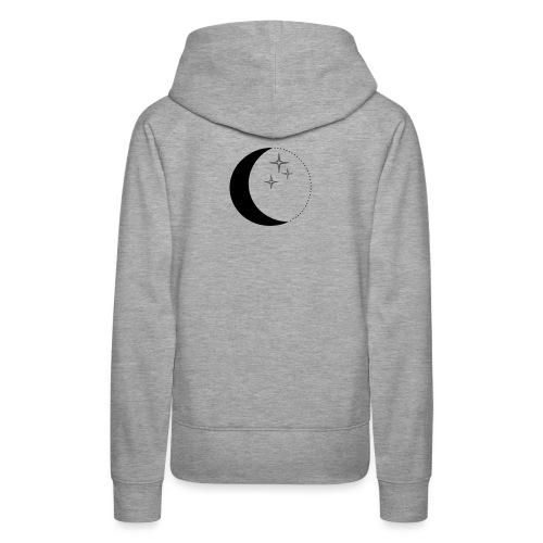 Moon and stars - Frauen Premium Hoodie