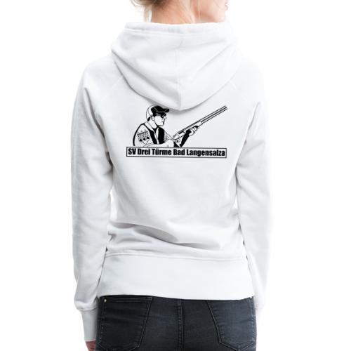 Logo auf dem Rücken - Frauen Premium Hoodie