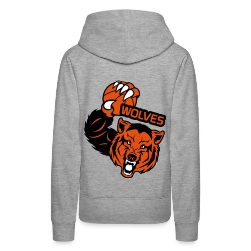 Wolves Basketball - Sweat-shirt à capuche Premium pour femmes