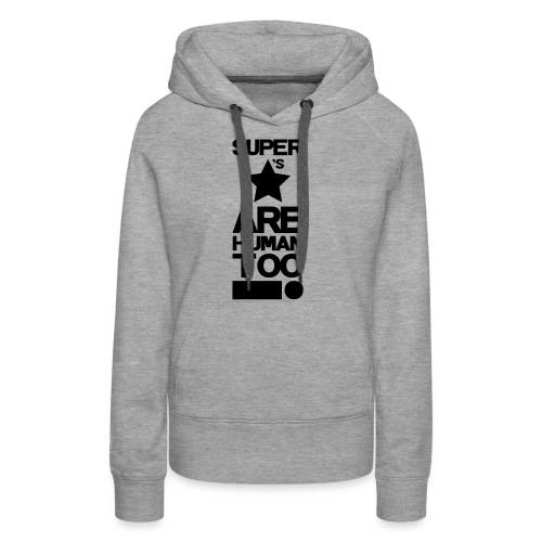 Inspired This! - Human Too! - Women's Premium Hoodie