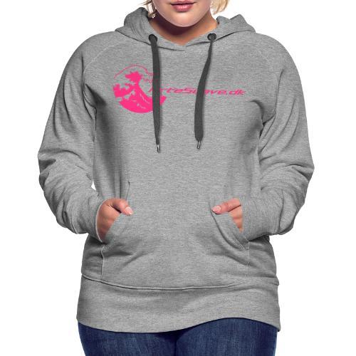 arte suave small - Dame Premium hættetrøje