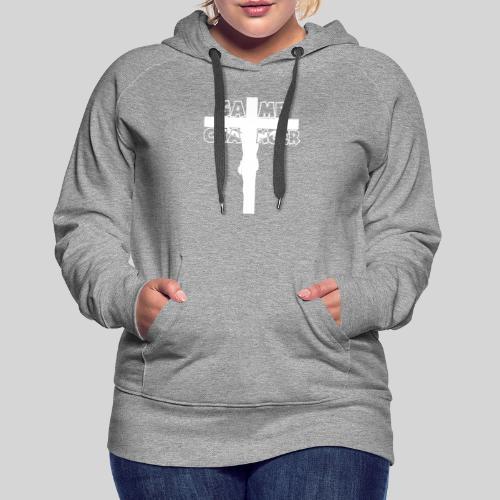 Jesus Mein Game Changer Lebensveränderer Held Gott - Frauen Premium Hoodie