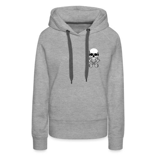 Skull - Women's Premium Hoodie
