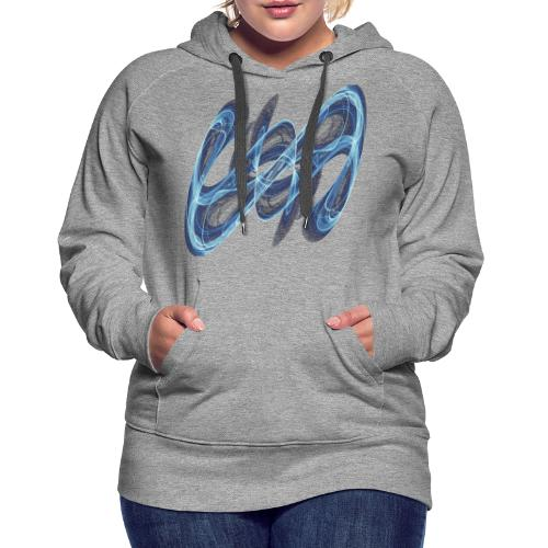 Secret sign from chaos theory 7545 ice - Women's Premium Hoodie