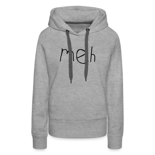 meh2black - Women's Premium Hoodie