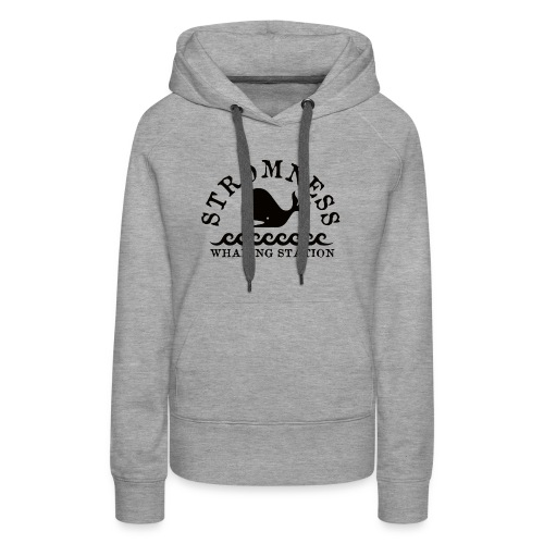 Sromness Whaling Station - Women's Premium Hoodie
