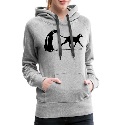 loop zit rr - Vrouwen Premium hoodie