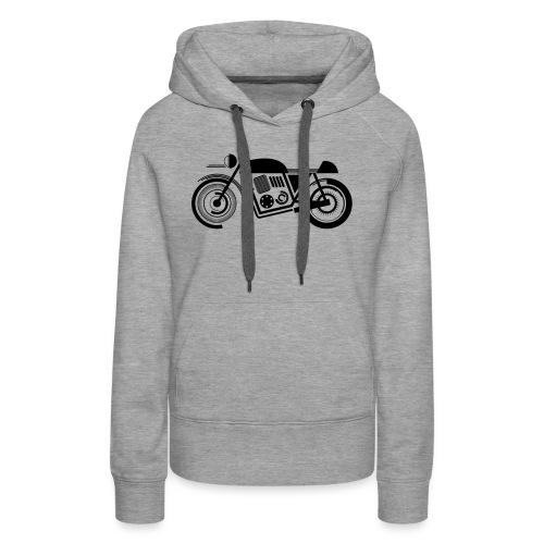 wk motor motor groot - Vrouwen Premium hoodie