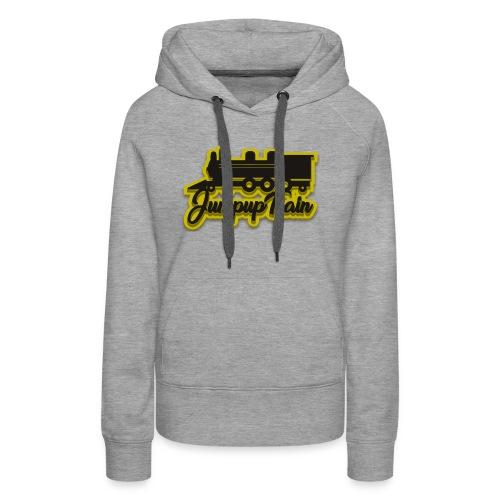 JUMPUPTRAIN - Vrouwen Premium hoodie