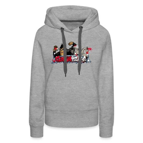 Cupfighters Rotterdam - Vrouwen Premium hoodie