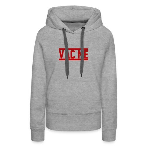 Vac Me Red/Black Hoodie - Women's Premium Hoodie