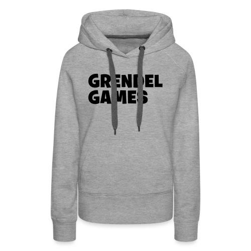 grendel text - Women's Premium Hoodie