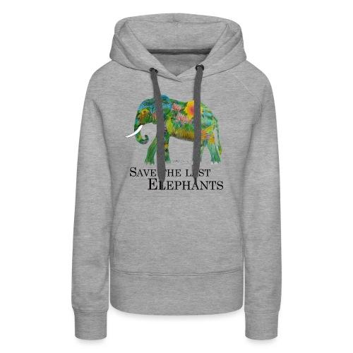Save The Last Elephants - Frauen Premium Hoodie