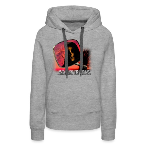 Reaper in Rear - Women's Premium Hoodie