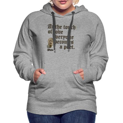 At the touch of love - Women's Premium Hoodie