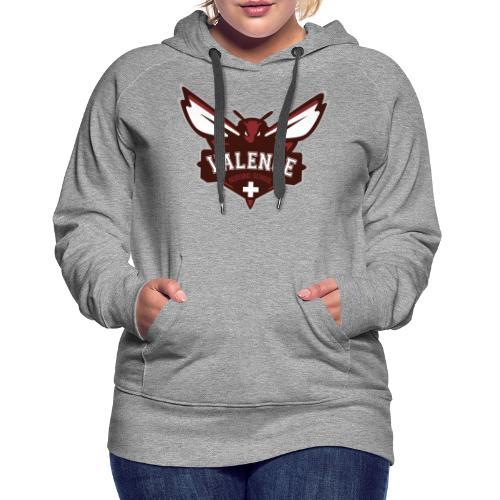 VALENCE ADHESIF 17-50 - Sweat-shirt à capuche Premium pour femmes