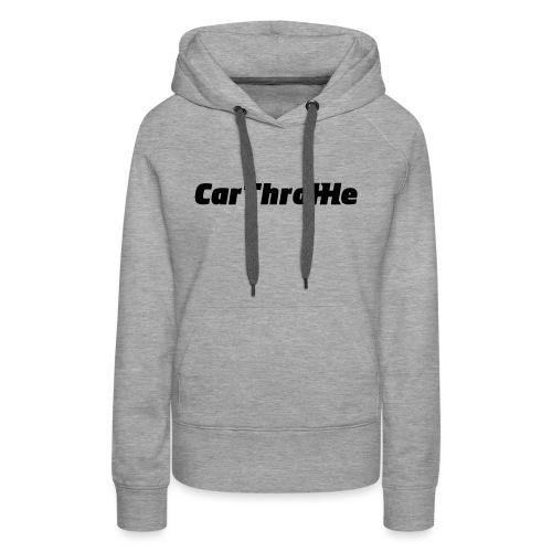 Car Throttle Logo - Women's Premium Hoodie