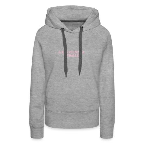 #jatilspinraza - rosa - Premium hettegenser for kvinner