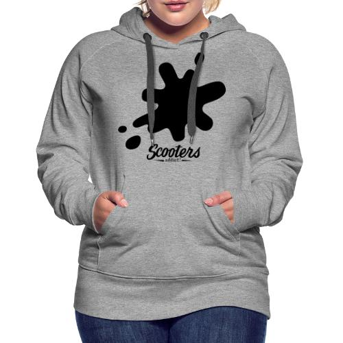 DL oil - Sweat-shirt à capuche Premium pour femmes