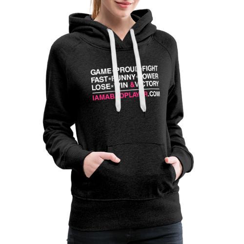 RAINBOW - Sweat-shirt à capuche Premium pour femmes