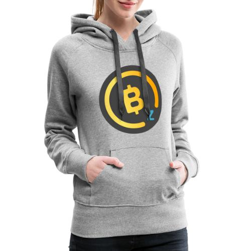 Dark BitcoinZ Logo - Women's Premium Hoodie