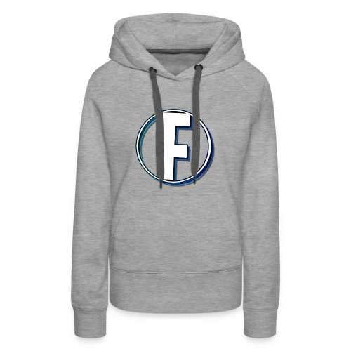 FLANQER - R - BLUE - Vrouwen Premium hoodie