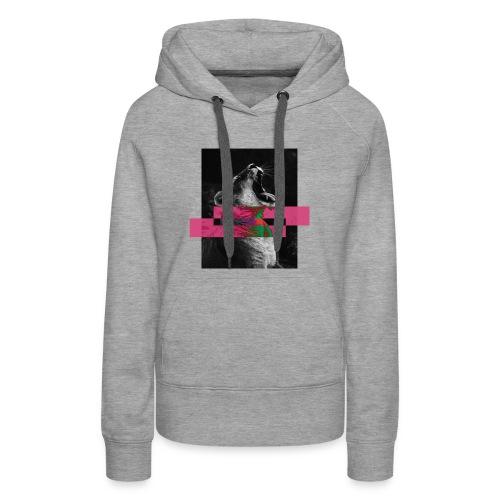 guepardo - Sudadera con capucha premium para mujer