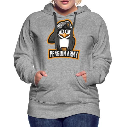 The Penguin Army Logo - Frauen Premium Hoodie