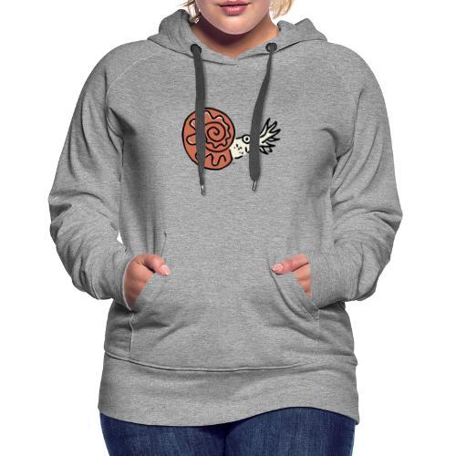 Ammonite - Sweat-shirt à capuche Premium pour femmes